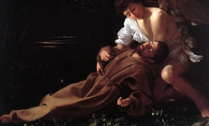 Saint Francis of Assisi in Ecstasy | Michelangelo Merisi da Caravaggio